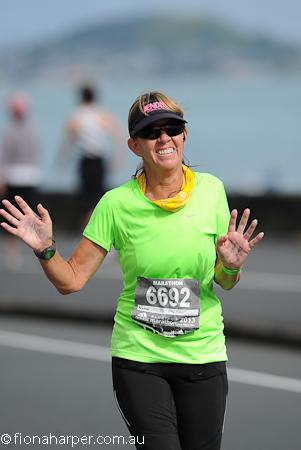 Fiona Harper AKL Marathon