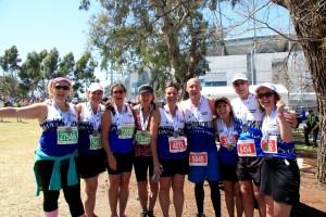 Melbourn Marathon Festival finishers, October 2014