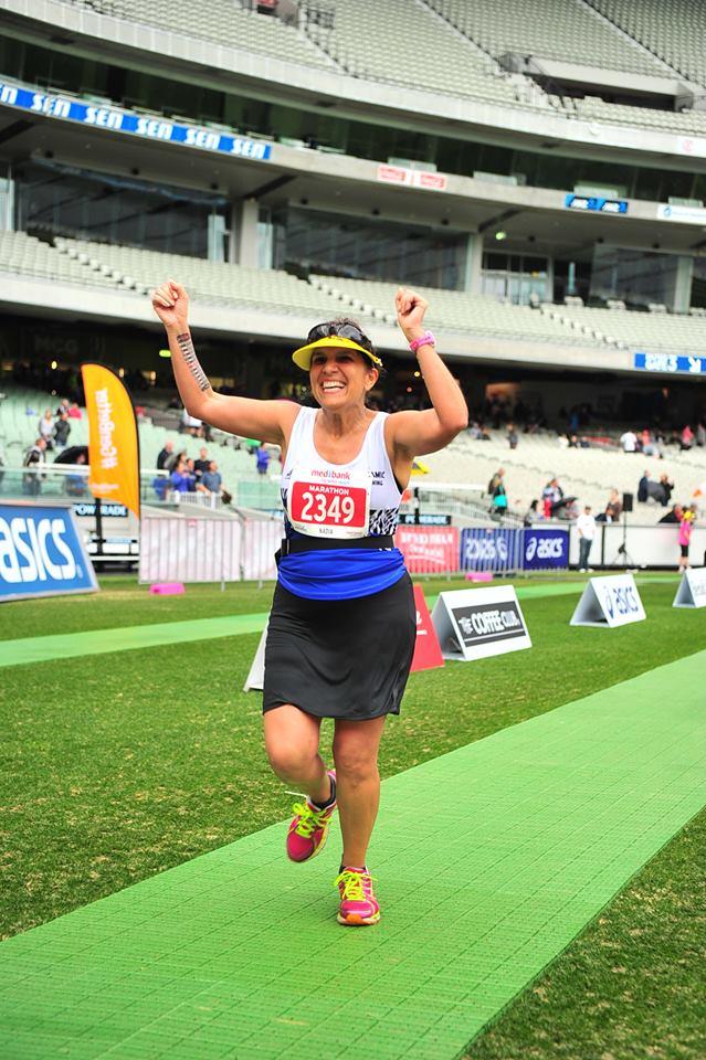 Nadia Mead Melbourne finish jpeg