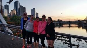 Sara Hurren Melbourne Marathon oct 2014